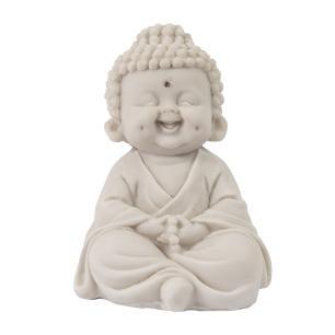 Monge Sorrindo da Meditação