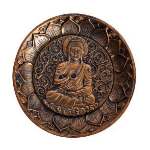 Incensário Redondo Buda