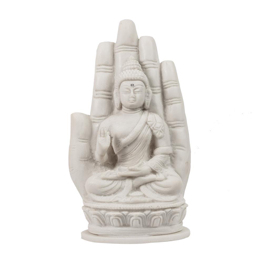 Buda na Mão em Marmorite