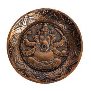 Incensário Redondo Ganesha