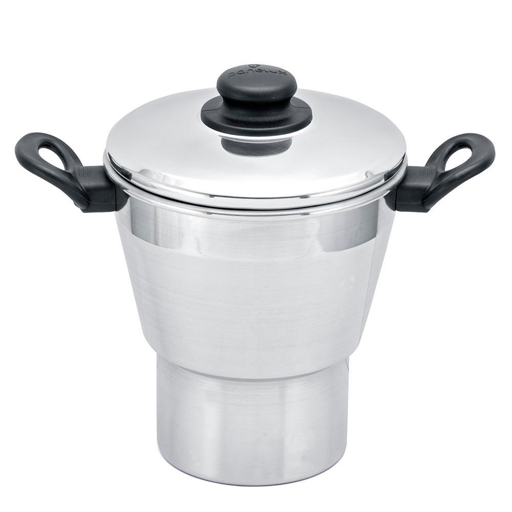 Cuscuzeiro cônico 16 tampa de alumínio Panelux