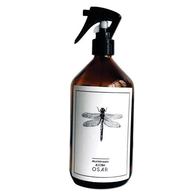 Água Perfumada Dragon-fly 500ml - Alecrim