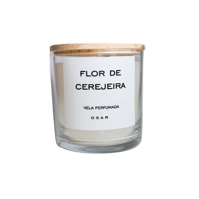 Vela Minimal Flor de Cerejeira