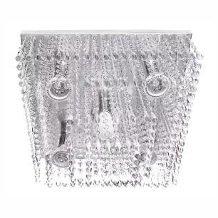 Kit 2 Luminárias Cristal Acrilico Queops + Dreamcrillic