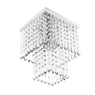 Conjunto Luminárias Cristal Acrilico Queops + Marrycrillic