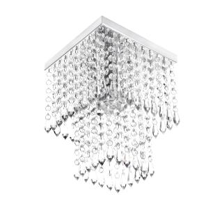 Kit 3 Luminárias Cristal Acrilico 1 Queops + 2 Marrycrillic