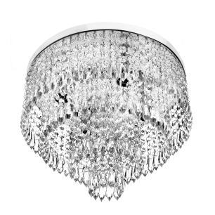 Lustre De Cristal Acrilico Lovecrillic com Lâmpadas 6000K
