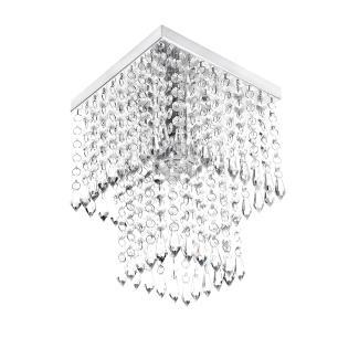 Kit 8 Peças Lustre Luminária Plafon Arandela Em Cristal Acr.