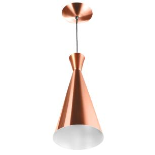 Luminária Pendente Funil Aluminio Tom Dixon New Cobre