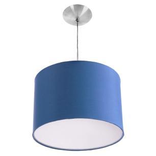 Kit Pendente Dome + 2 Pendente Cilindrica Azul