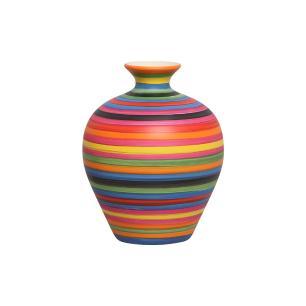 Vaso Decorativo Topazio P Enfeite Cerâmica Colors