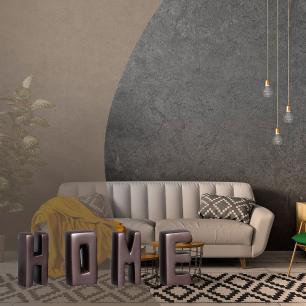 HOME Enfeite De Mesa Decoração Em Cerâmica Grafite Ônix