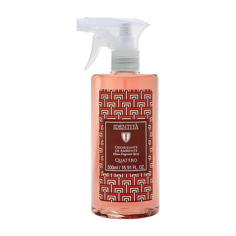 Odorizante De Ambiente Spray Identità Quattro (vanilla, Canela, Laranja E Especiarias) 500ml