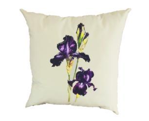 Capa de Almofada 45x45 Iris Roxa