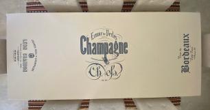 Toalha de Mesa Retangular 8 Lugares 260x160 Champagne
