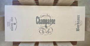Toalha de Mesa Retangular 8 Lugares 260x160cm Champagne em Linho