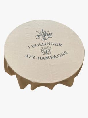 Toalha de Mesa Quadrada 4 Lugares 160x160 Champagne