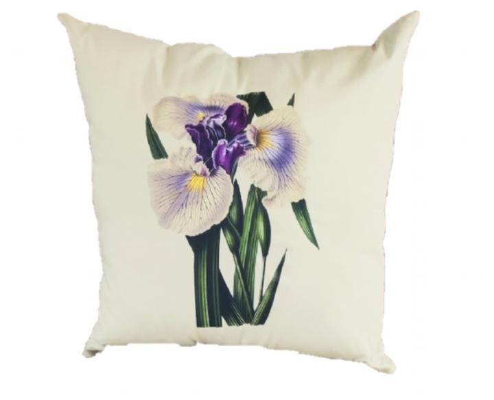 Capa de Almofada 45x45 Iris Japan