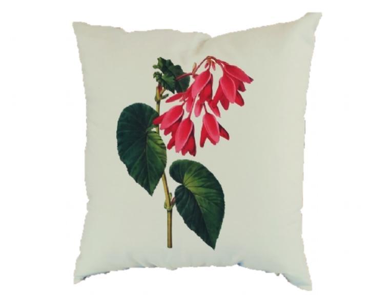 Capa de Almofada 45x45 Begonia Ferruginea