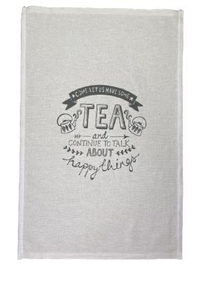 Pano de Prato Estampa Tea - Trama Pé de Galinha
