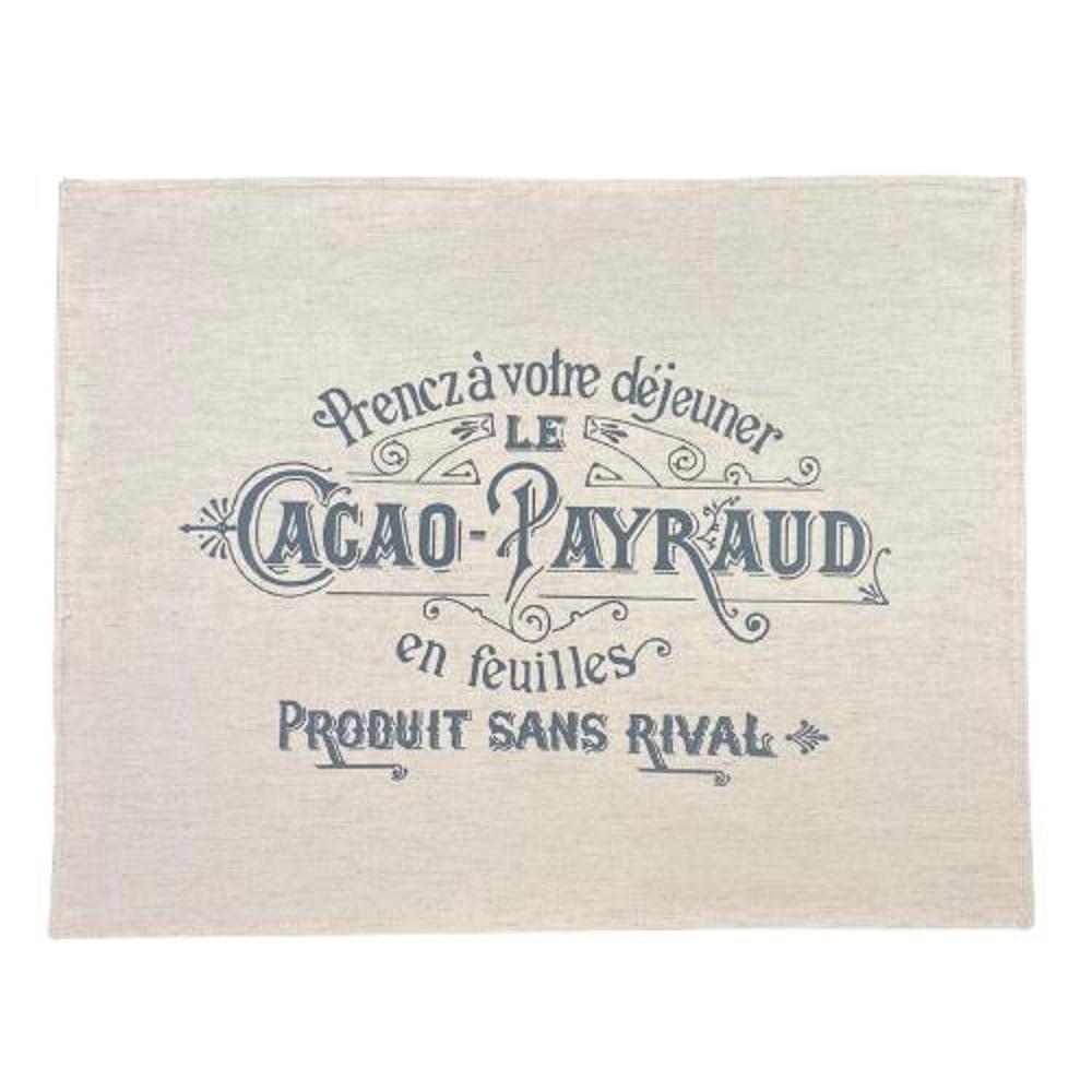 Lugar Americano Cacao Payraud em Linho - 1 Unidade
