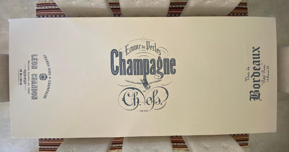 Toalha de Mesa Retangular 10 Lugares 300x160 Champagne