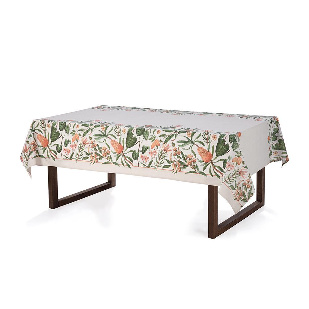 Toalha de mesa Retangular Karsten 6 lugares Limpa Fácil Greta