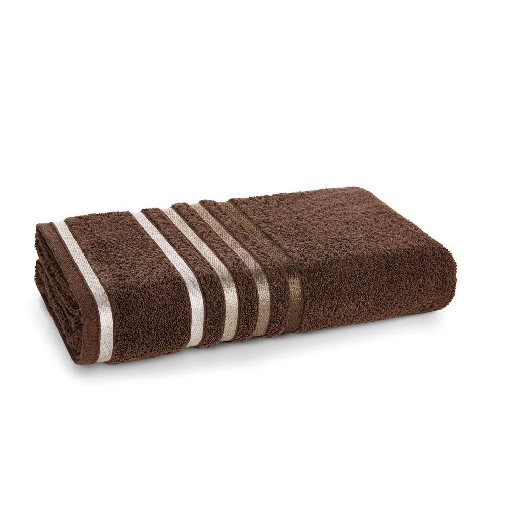 Toalha de Banho Karsten Fio Penteado Lumina Chocolate/Marrom