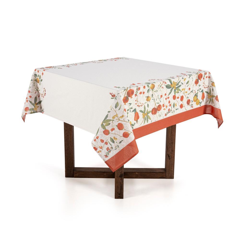 Toalha de mesa Quadrada Karsten 4 lugares Dia a Dia Floralice