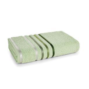 Toalha de Banho Karsten Fio Penteado Lumina Verde Chá/Verde