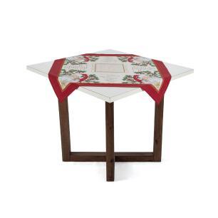 Toalha de mesa de Natal Karsten Quadrada de Chá São Nicolau