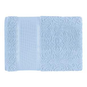 Toalha de Banho Para Bordar Karsten Melina II Baby Blue