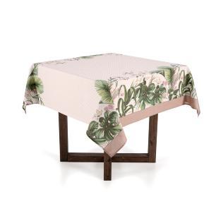 Toalha de mesa Quadrada Karsten 4 lugares Dia a Dia Silvestre