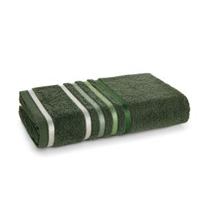 Toalha de Banho Karsten Fio Penteado Lumina Selva/Verde