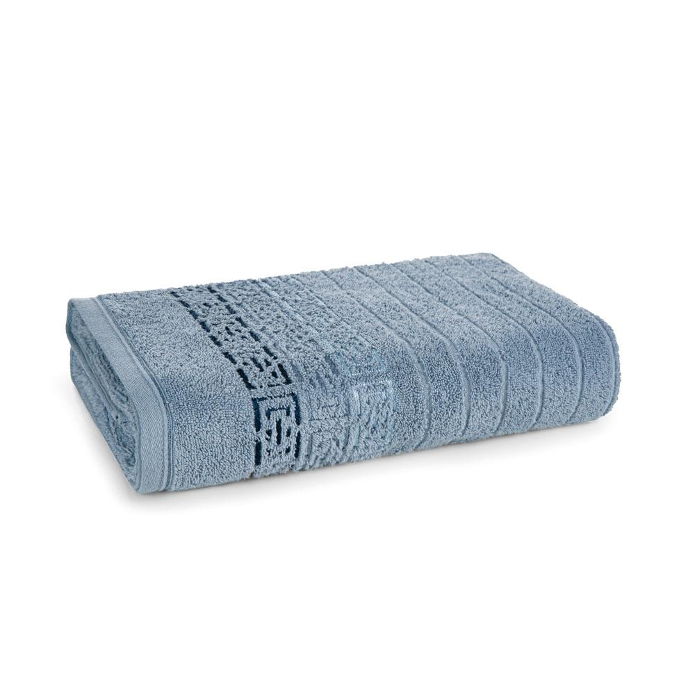 Toalha de Banho Karsten Fio Penteado Barcelos Allure/Azul