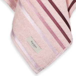 Toalha de Banho Karsten Fio Penteado Lumina Rosé/Roxo