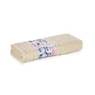 Toalha de Banho Infantil Fio Cardado Karsten Lia Natural