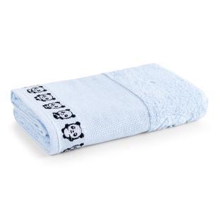 Toalha de Banho Para Bordar Karsten Max Baby Blue