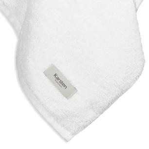 Toalha de Rosto Karsten Fio Penteado Fresia II Branco
