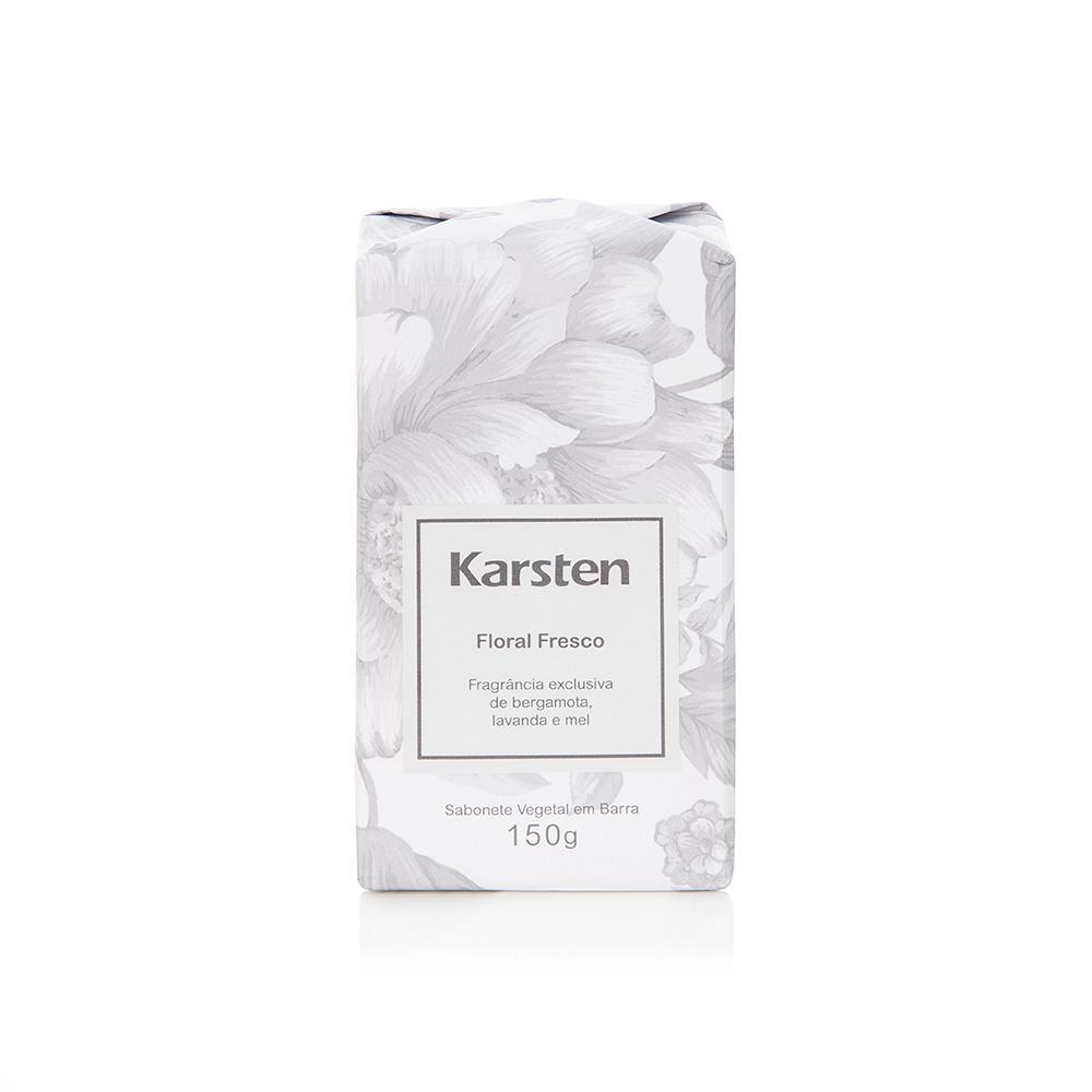Sabonete em Barra Karsten 150g Floral Fresco
