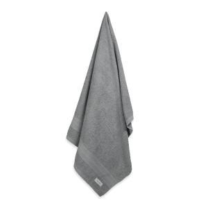 Toalha de Banho Karsten Fio Cardado Empire Cinza Steel