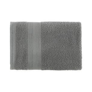 Toalha de Rosto Karsten Fio Cardado Empire Cinza Steel
