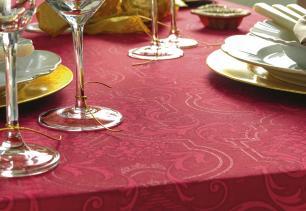 Toalha de mesa de Natal Quadrada Karsten 4 Lugares Clássica