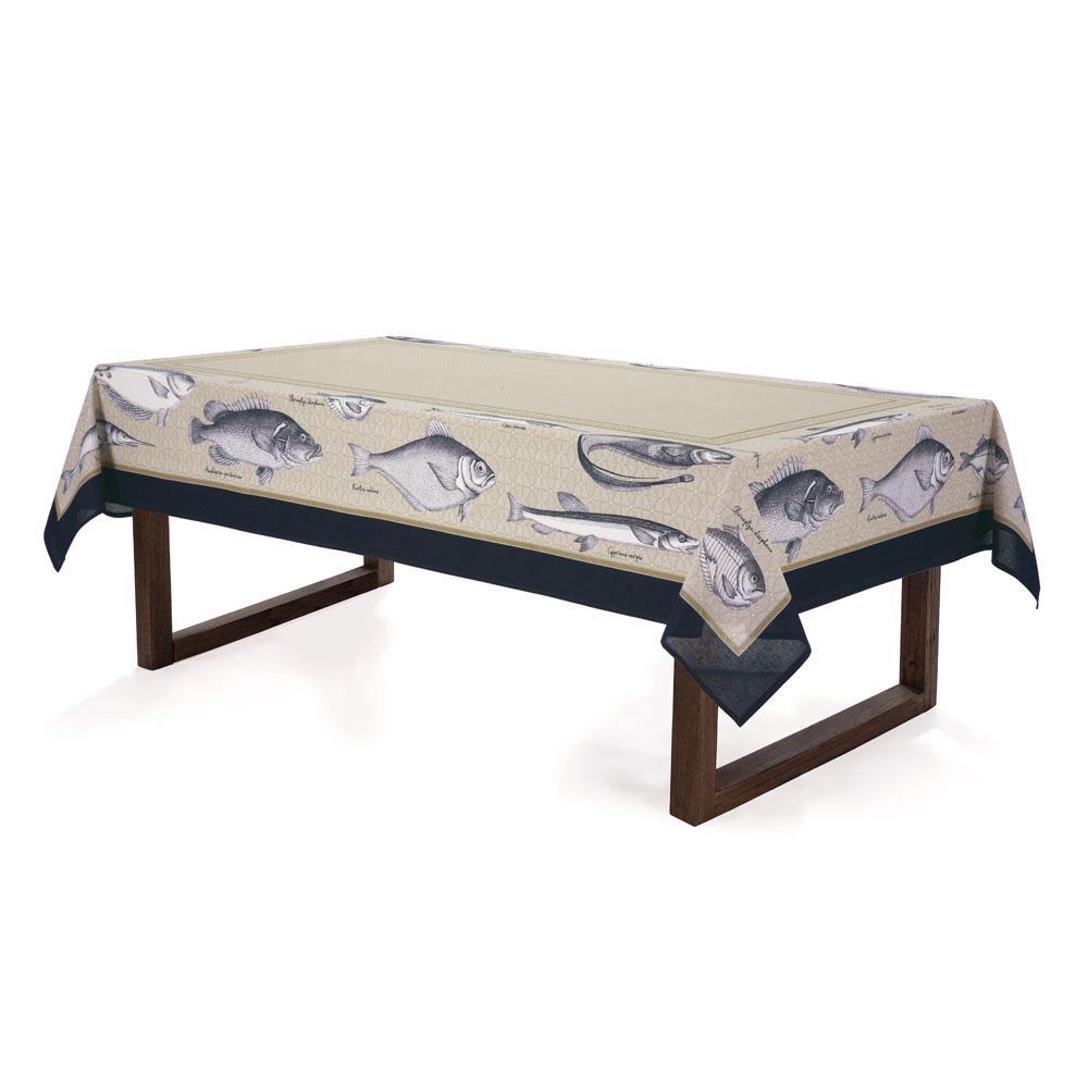 Toalha de mesa Retangular Karsten 4 lugares Antiformiga Salina