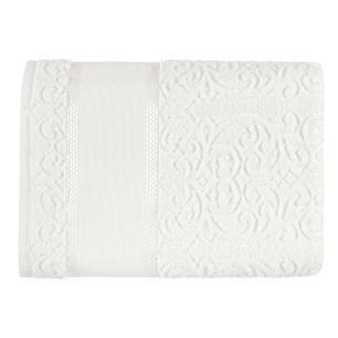 Toalha de Banho Para Bordar Karsten Melina II Branco