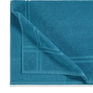 Toalha de Piso Karsten 100% Algodão Metrópole Azul Crepúsculo