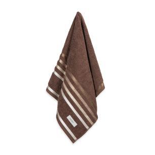 Toalha de Rosto Karsten Fio Penteado Lumina Chocolate/Marrom