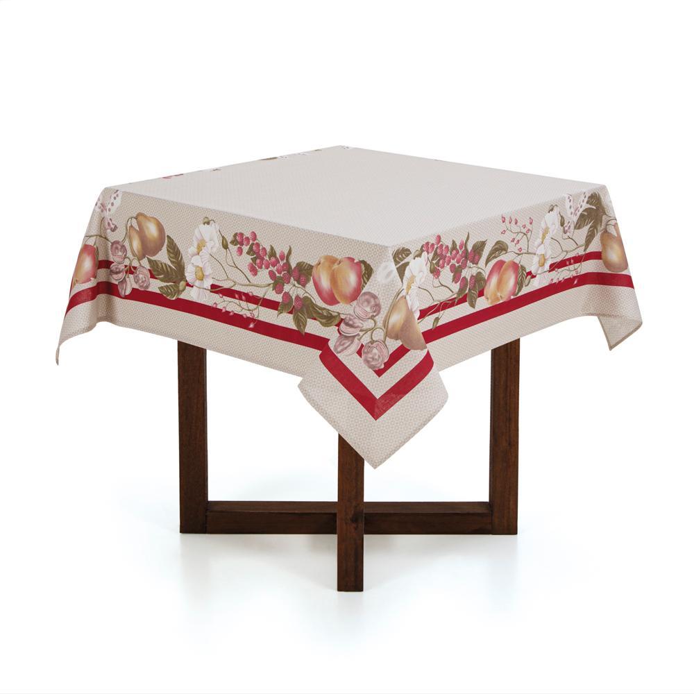 Toalha de mesa Quadrada Karsten 4 lugares Antiformiga Ambrósia