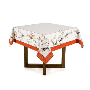 Toalha de mesa Quadrada Karsten 4 lugares Antiformiga Liberté