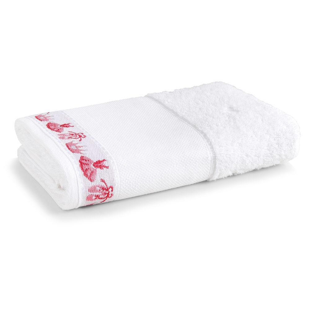 Toalha de Banho Para Bordar Karsten Balé Branco